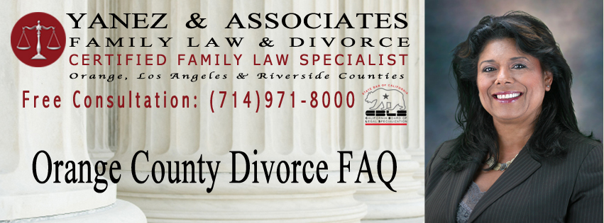 Orange County Divorce FAQ